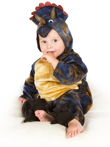 Baby Triceratops - Baby & Toddler Costume back