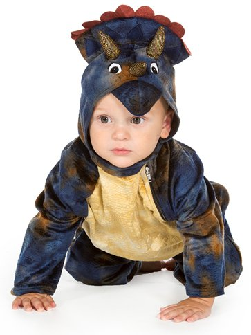 Baby Triceratops - Baby & Toddler Costume front