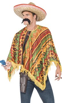 Mexican Poncho - Adult Costume