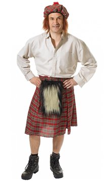 Scottish Man - Adult Costume