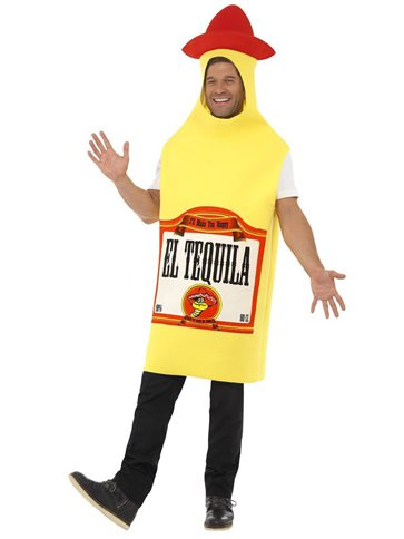 Tequila Bottle - Adult Costume front