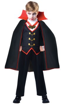 Dracula Boy - Child Costume
