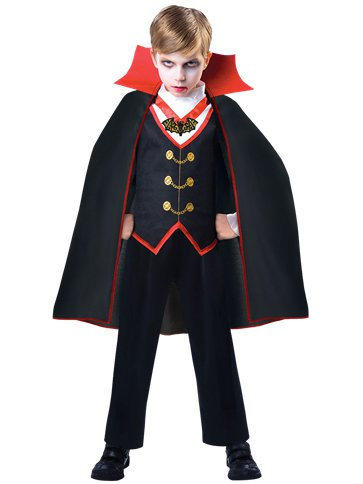 Dracula Boy - Child Costume front