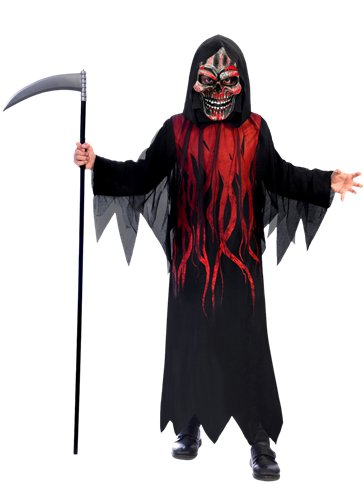 Dark Shadow Reaper - Child Costume front