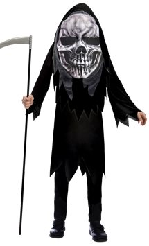 Grim Reaper Big Head - Child Costume