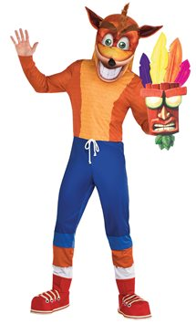 Crash Bandicoot - Adult Costume