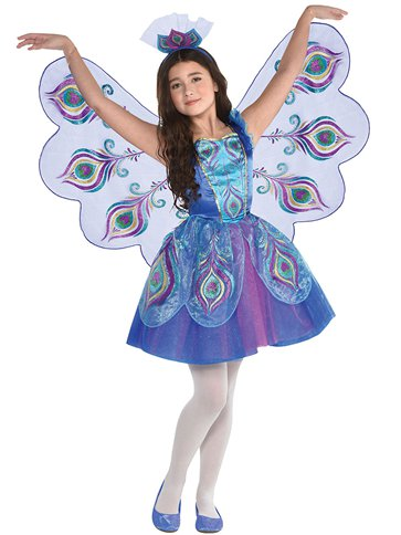 Pretty Peacock - Child Costume front