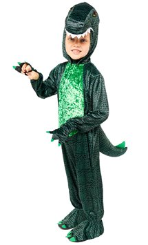 Dark Dino - Child Costume