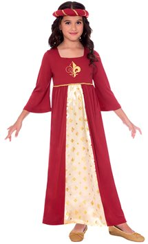Tudor Princess Red - Child Costume