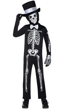 Skeleton Suit - Child Costume