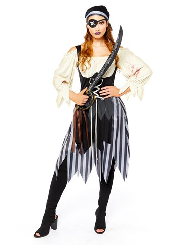 Zombie Pirate - Adult Costume left