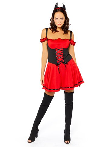 Sexy Devil - Adult Costume front