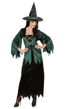 Emerald Witch - Adult Costume