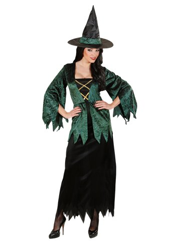 Emerald Witch - Adult Costume front