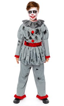 Bad Clown Boy - Child Costume