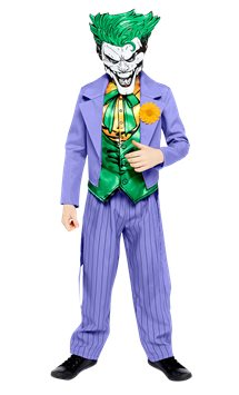 Joker Comic - Child Costume