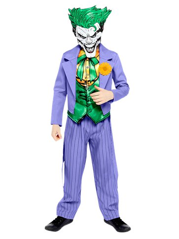Joker Comic - Child Costume front