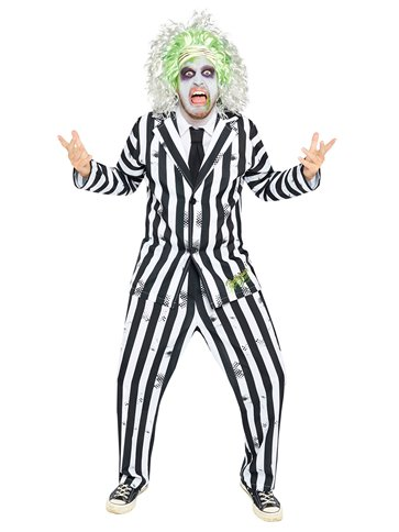 Beetlejuice - Adult Costume back
