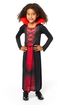 Recycled Rose Vampiress - Child Costume
