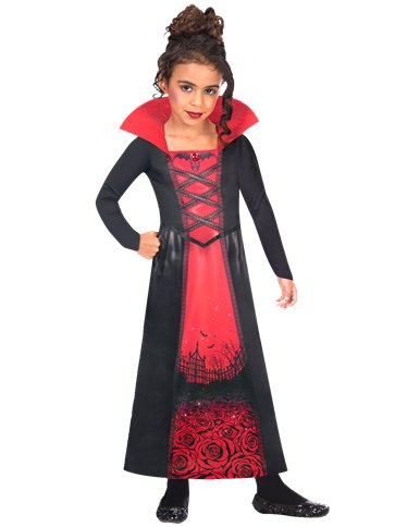 Recycled Rose Vampiress - Child Costume pla