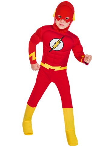 Flash Muscle Chest - Child Costume front