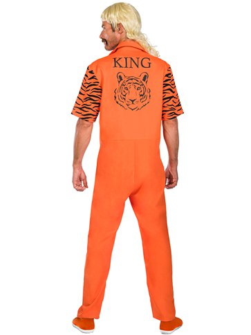 Big Cat Convict - Adult Costume left