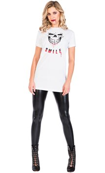 Smile T-Shirt Dress - Adult Costume