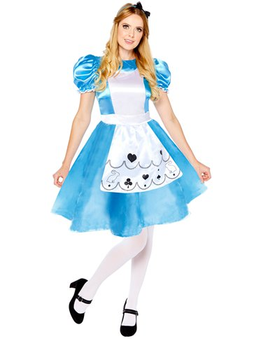Alice in Wonderland - Adult Costume front