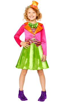 Miss Mad Hatter - Child Costume