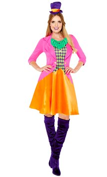 Miss Mad Hatter - Adult Costume