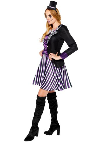 Dark Mad Hatter - Adult Costume left