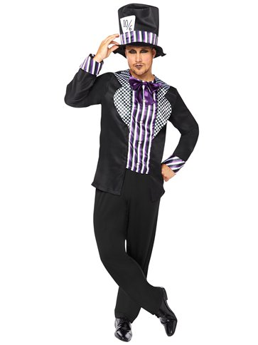 Dark Mad Hatter - Adult Costume front