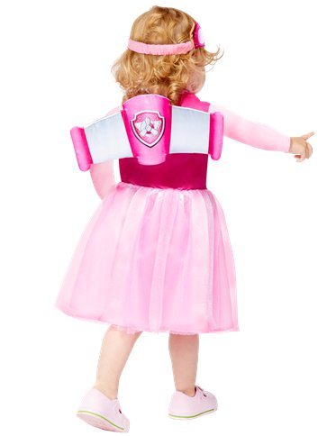 Paw Patrol Skye - Baby & Toddler Costume back