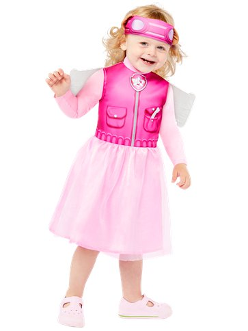 Paw Patrol Skye - Baby & Toddler Costume left