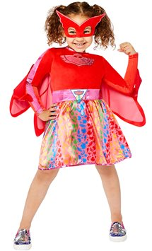 PJ Masks Owlette Dress - Child Costume