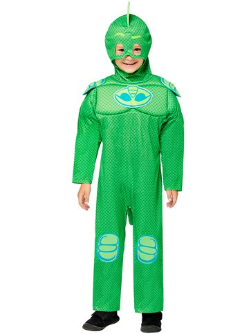 PJ Masks Gekko Muscle Chest - Child Costume front
