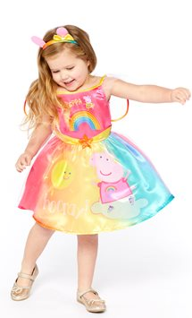 Peppa Pig Rainbow Fairy - Toddler & Child Costume