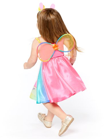 Peppa Pig Rainbow Fairy - Toddler & Child Costume left