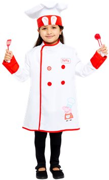 Peppa Pig Chef - Child Costume