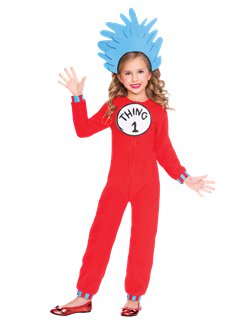 Dr. Seuss Thing One & Two Jumpsuit
