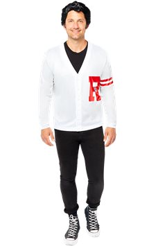 Grease Danny Rydell High Jumper - Adult Costume