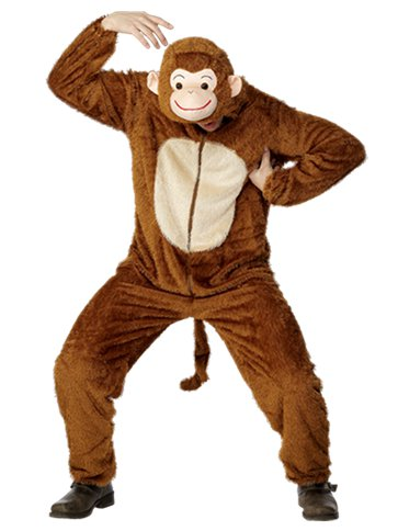 Monkey - Adult Costume front