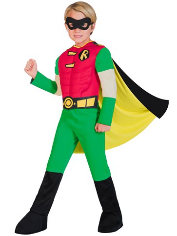 Robin Muscle Chest - Child Costume back