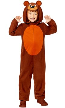 Bear Onesie - Child Costume