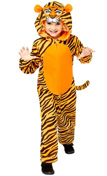 Tiger Onesie - Child Costume