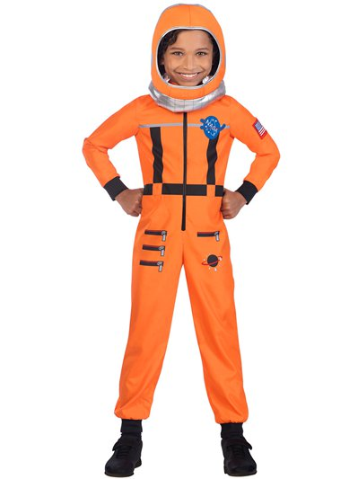 Orange Space Suit - Child Costume