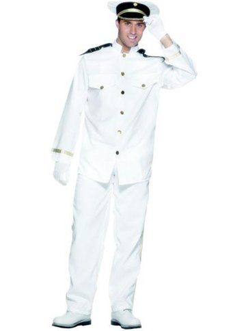 Captain - Adult Costume front