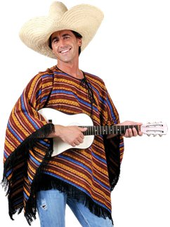 Poncho - Adult Costume