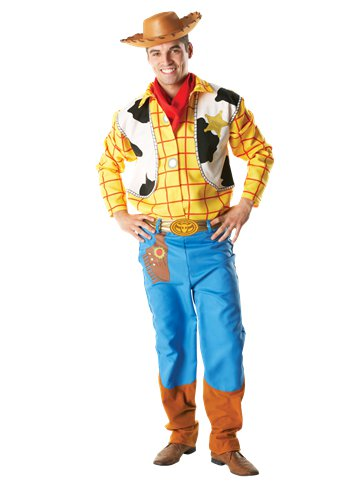 Woody - Adult Costume front