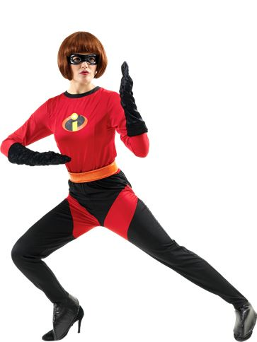 Mrs Incredible - Adult Costume front